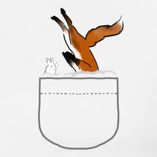 Fox snow Dive - Men's Premium T-Shirt