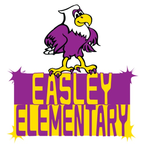 Easley Eagle Fun Logo - Men's Premium T-Shirt