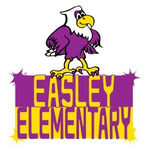 Easley Eagle Fun Logo - Men's Premium T-Shirt