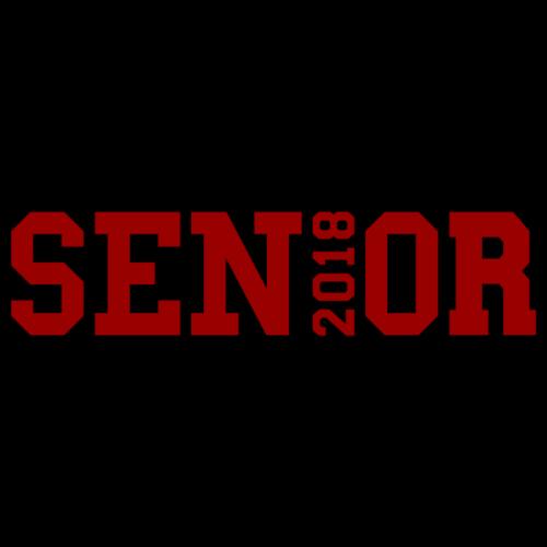 Red Senior Black Outline - Men's Premium T-Shirt