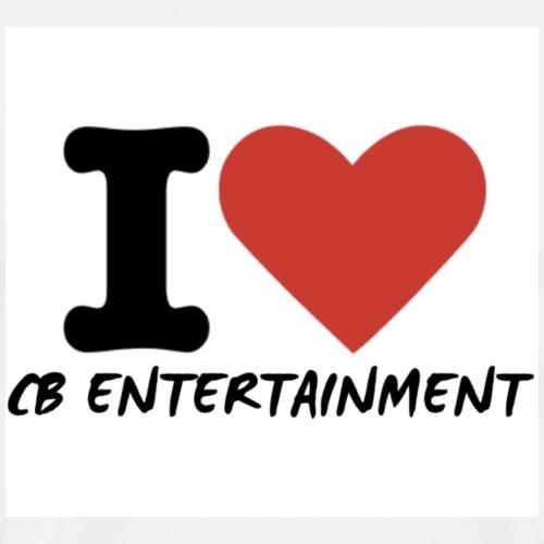 I Love CB Entertainment - Men's Premium T-Shirt