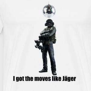 moves like jager - Men's Premium T-Shirt