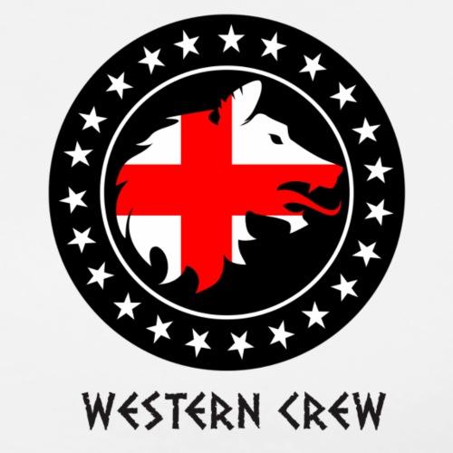 Western Crew Logo - Men's Premium T-Shirt