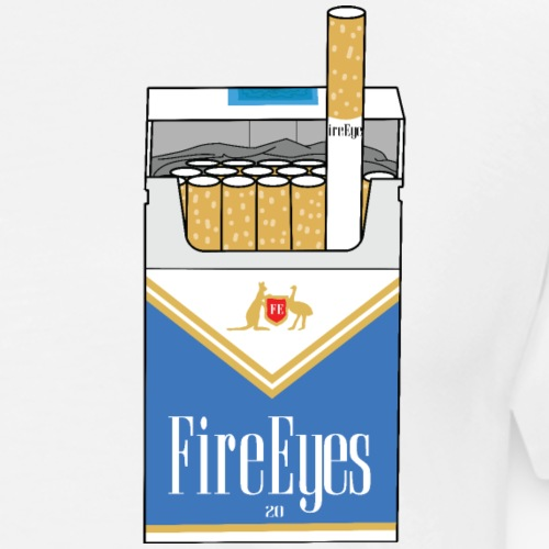 Fire Eye Blues - Men's Premium T-Shirt