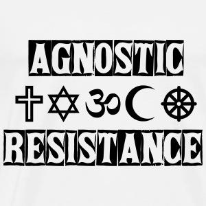 Agnostic Resistance - Men's Premium T-Shirt