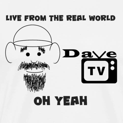 DaveTVLive - Men's Premium T-Shirt