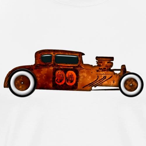 Rusty Rat Rod Design - Men's Premium T-Shirt