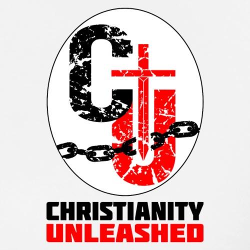 Christianity Unleashed Logo - Men's Premium T-Shirt