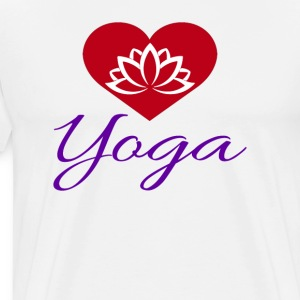 Loto Yoga - Men's Premium T-Shirt