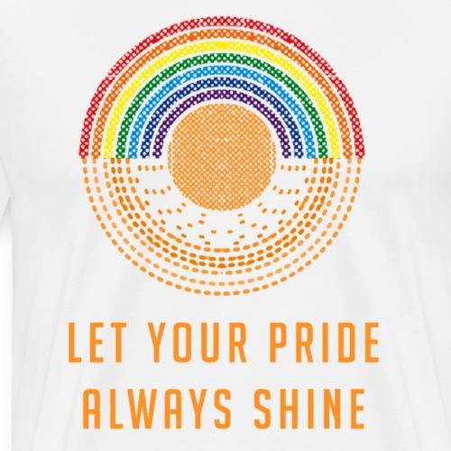 Let Your Pride Always Shine by Liz Williams - Men's Premium T-Shirt