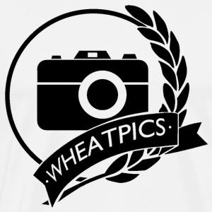 WheatPics Logo Black - Men's Premium T-Shirt