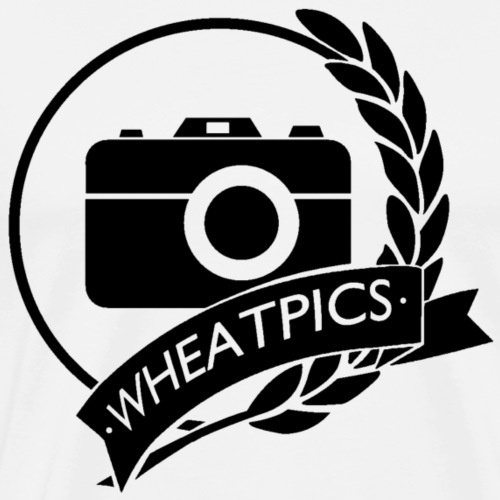 WheatPics Logo Black - Men's Premium T-Shirt