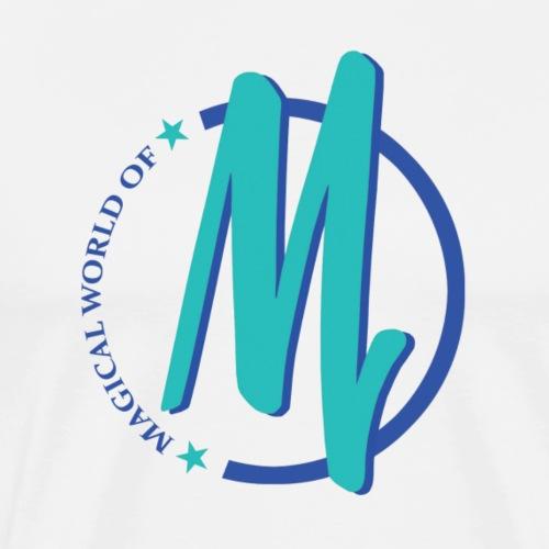 MagicalWorldofM Logo - Men's Premium T-Shirt