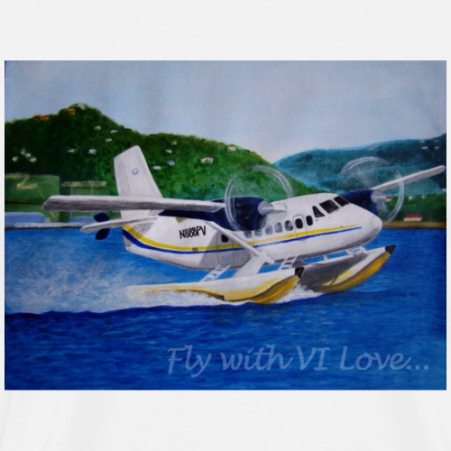 Fly with VI Love - Men's Premium T-Shirt