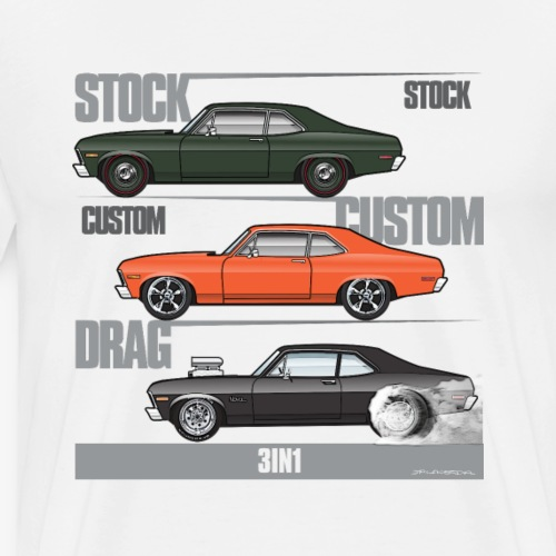 3in1 Novas - Men's Premium T-Shirt