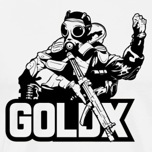 GOLDX BLACK - Men's Premium T-Shirt