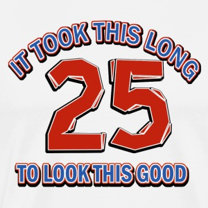 25th birthday designs - Men's Premium T-Shirt