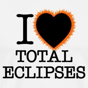 I Heart Total Eclipses - Men's Premium T-Shirt