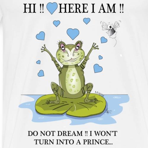 Marcy Valentine's day prince - Men's Premium T-Shirt