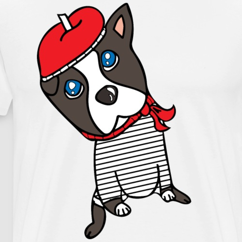 Doggie From France - Men's Premium T-Shirt