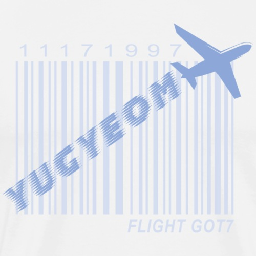Got7_Yugyeom_Flight Log - Men's Premium T-Shirt