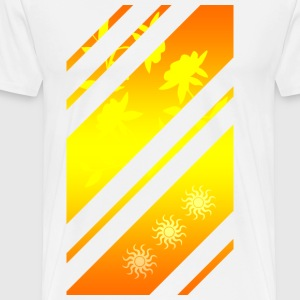 Golden Pattern - Men's Premium T-Shirt