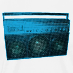 Boombox - Old school - Ghetto Blaster - Men's Premium T-Shirt