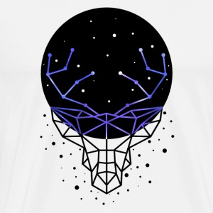 GALACTIC DEER - T-shirt premium pour hommes