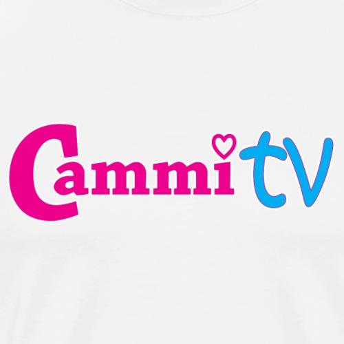Cammi TV Logo Horizontal - Men's Premium T-Shirt