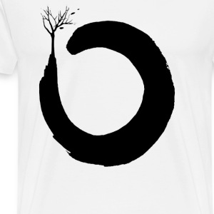 Floating Zen Three Circle - Men's Premium T-Shirt