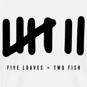 Five Loaves Two Fish - Men's Premium T-Shirt