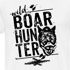 Wild Boar Hunter - Men's Premium T-Shirt