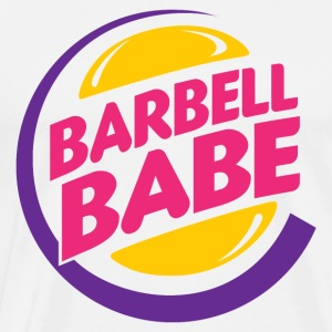 Barbell Babe - Men's Premium T-Shirt