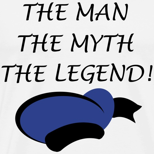 The Man, The Myth, The Legend! - Men's Premium T-Shirt