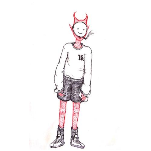 8teen Doodle Guy - Men's Premium T-Shirt