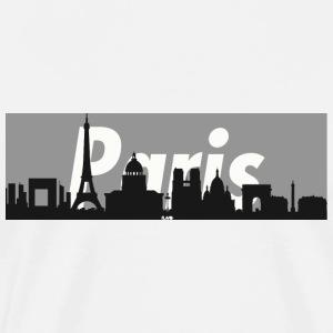 Paris Skyline - Men's Premium T-Shirt