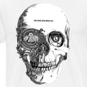 The System's Skull - Men's Premium T-Shirt
