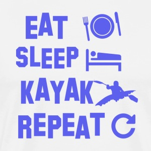 kayak design - Men's Premium T-Shirt