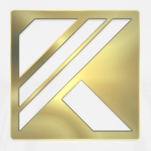 Korpsic Logo - Golden - Men's Premium T-Shirt