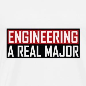 Engineering A Real Major Apparel - Men's Premium T-Shirt