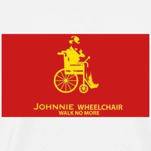 Jhonny Wheelchair - Men's Premium T-Shirt