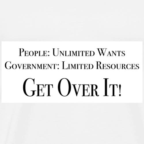 Limited Resources - Men's Premium T-Shirt