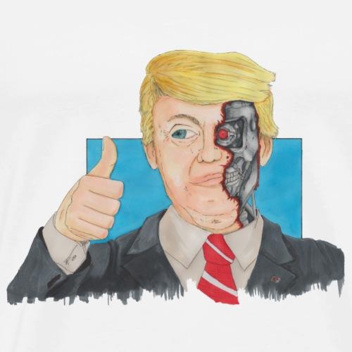 Terminator Trump - Men's Premium T-Shirt