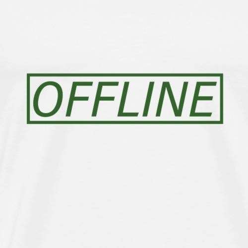 Offline Army - Men's Premium T-Shirt