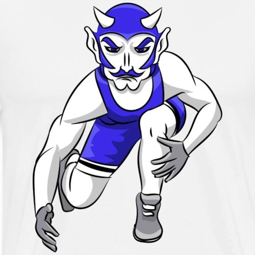 Blue Devils Wrestling - Men's Premium T-Shirt