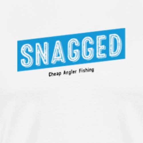 Snagged- Boxed Blue - Men's Premium T-Shirt