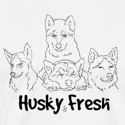 Dog Shirt | Husky Quad Fresh - Men's Premium T-Shirt