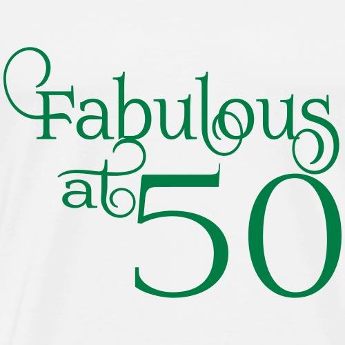 Fabulous at 50 - Men's Premium T-Shirt
