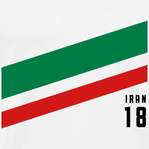 Iran Stipes - Men's Premium T-Shirt