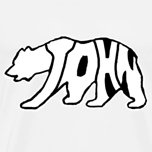 Bear Logo - Men's Premium T-Shirt